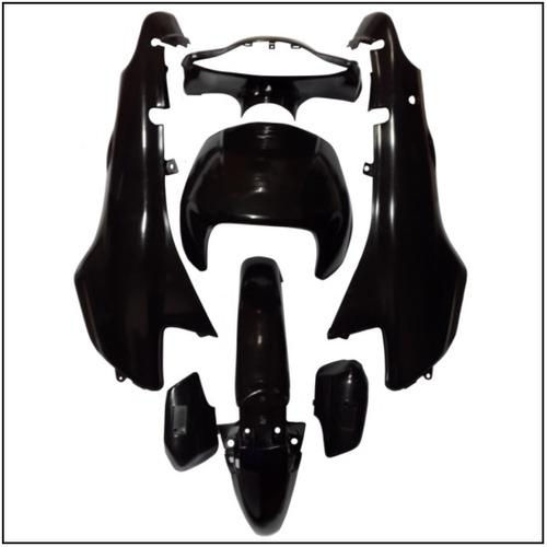 kit plasticos smash oferton trip bit 110 (7 pcs)negro virgen