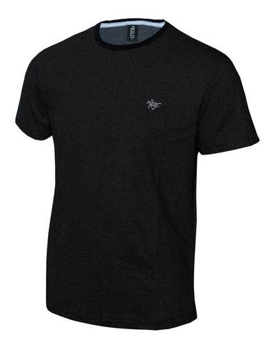 kit plus size camiseta masculina em malha  e cavalo em metal