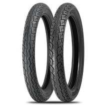 kit pneu moto cg 125/150 levorin aro 18 dianteiro e traseiro