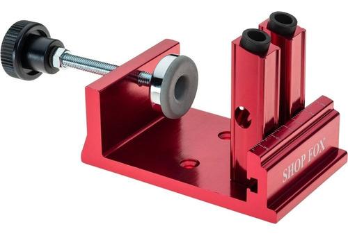 kit pocket hole doble guía de aluminio carpintero d4880