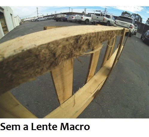 kit polar com lente macro, para gopro hero3+ pro p1015