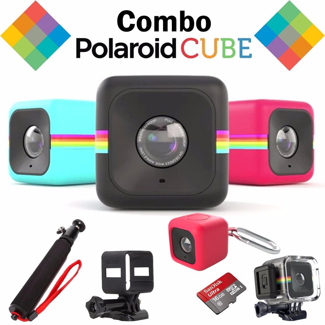Kit Polaroid Cube Carcasa Sumergible Baston Memoria -   5.999,00 en ... 69dfb157d3