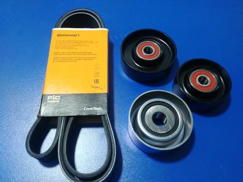 kit poleas y faja accesorios toyota hylux motor 1kd/2kd c/ac