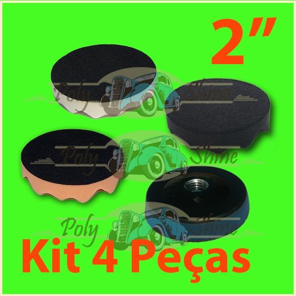 Kit Polimento - Boinas De Espumas + Suporte 2 Polegadas - R  65 1bd1b1316b7