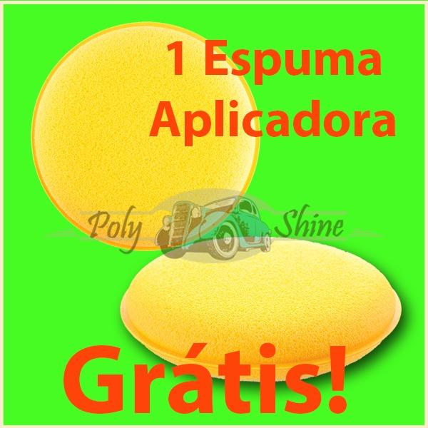 Kit Polimento - Boinas De Espumas + Suporte 3 Polegadas - R  94 99265486479