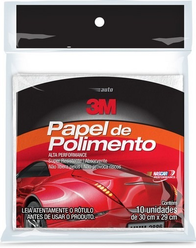 Kit Polimento Completo + Boina Azul + Papel De Polimento 3m - R  482 ... 515df34d028