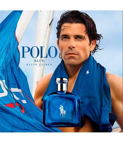 kit polo blue (perfume 125 ml + deo stick 75 g) - original