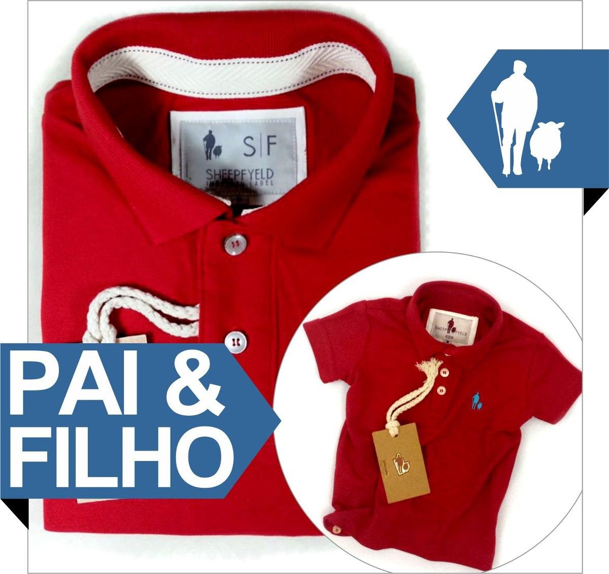 fad9035b0da5d4 Kit Polo Pai E Filho S&f, Presentes Criativos Para O Natal