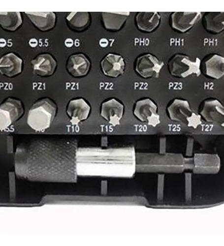 kit ponteira para parafusadeira bits com 31 peças eda 8zp