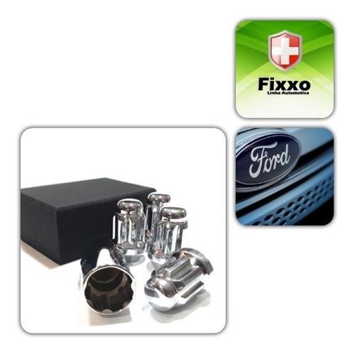 kit porcas antifurto de roda linha ford / plus