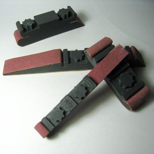 kit porta lijas - aero modelismo - maqueta - diseño