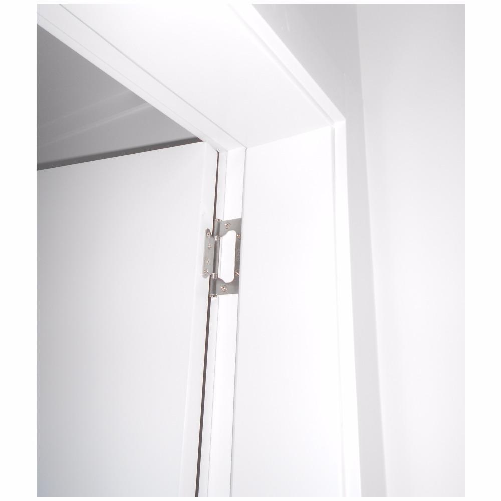 Kit Porta Pronta Laqueada 90 X 210 Cm R Em