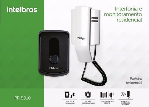 Resultado de imagem para Porteiro Eletrônico Residencial Ipr 8010 +módulo Interno