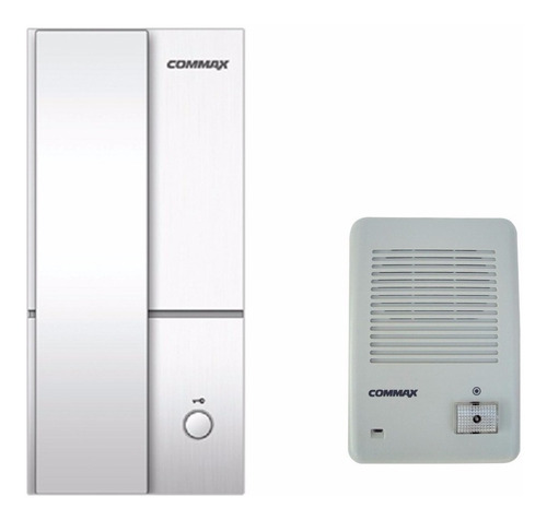 kit portero electrico commax frente emb/ext  telefono 201la
