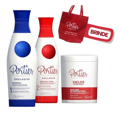 kit portier exclusive + portier botox ciclos mask