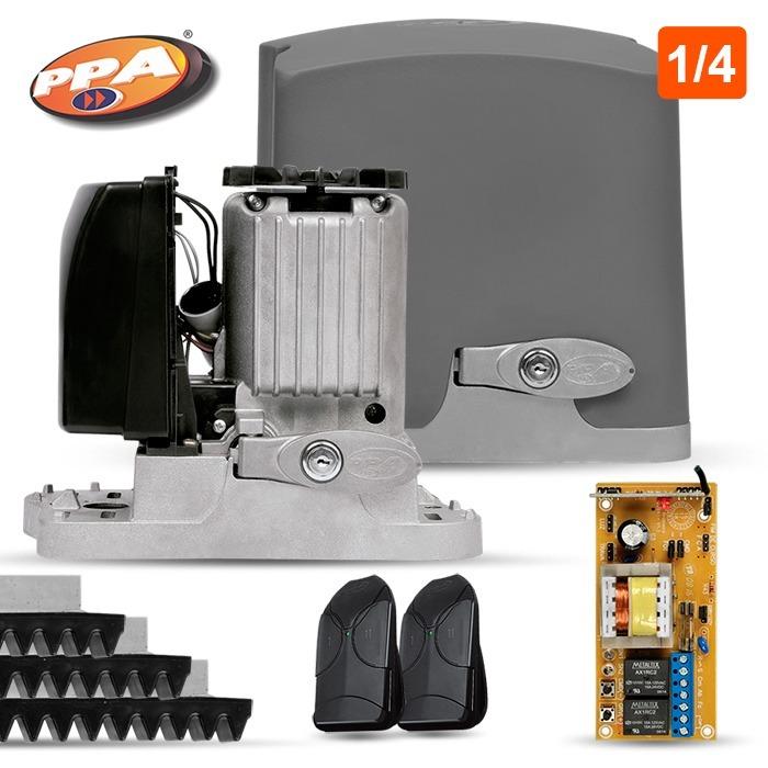969927762a4 Kit Portão Eletrônico Deslizante Dz Rio 400 1 4 Ppa 220v - R  339