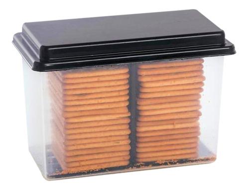 kit pote biscoito bolacha com tampa e puxador 2 unidades