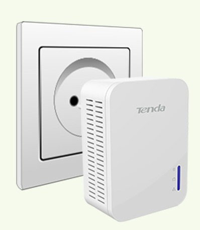 kit powerline gigabit tenda p1000 4622