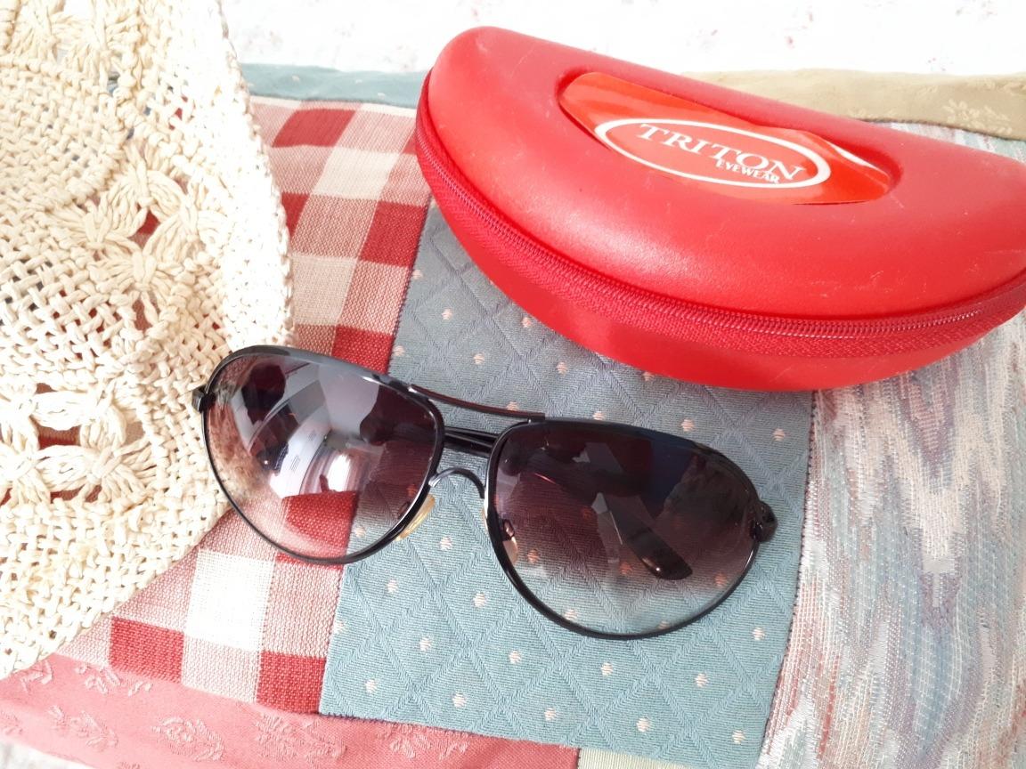 Kit Praia Óculos De Sol Trion + Chapéu Lindo - R  100,00 em Mercado ... acfe033b44
