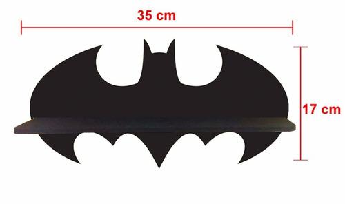 kit prateleira marvel + batman exposição lego - frete grátis