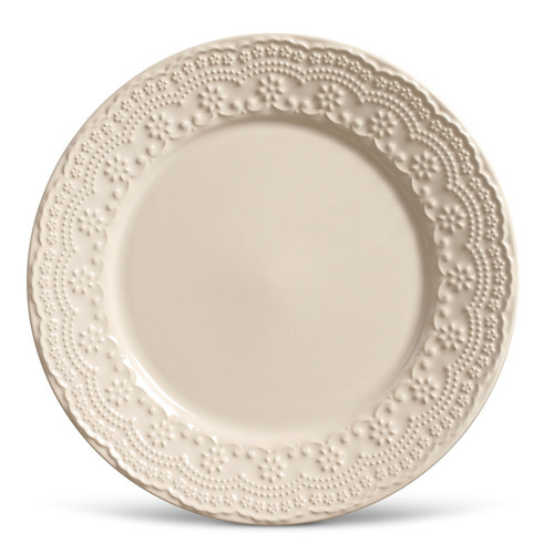 kit pratos rasos porto brasil madeleine colorê 16 peças