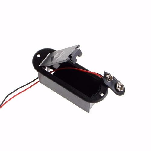kit pré-amplificador circuito ativo p/ contra baixo 4 potenc