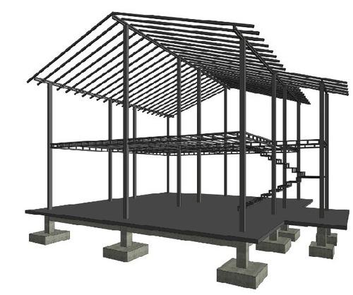 kit prefabricados para viviendas de 1 y 2 niveles.