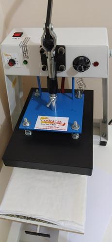 kit prensas de camisa e caneca e impressora