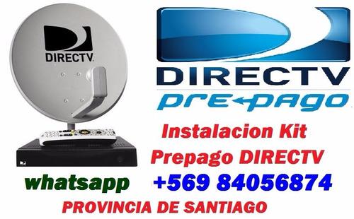 kit prepago directv e instalación/ orientar antena satelital
