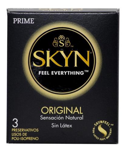 kit prime skyn 2 cajas preservativos x3 + antifaz de regalo