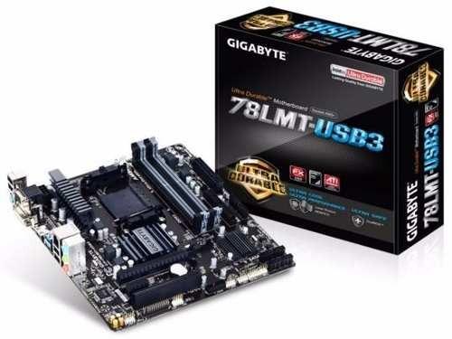 kit processador fx-8350 gigabyte ga-78lmt-usb3 8gb