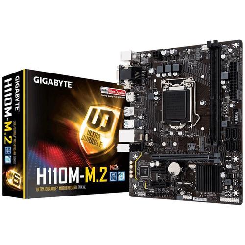 kit processador intel pentium g4560 gigagyte ga h110m m2 i