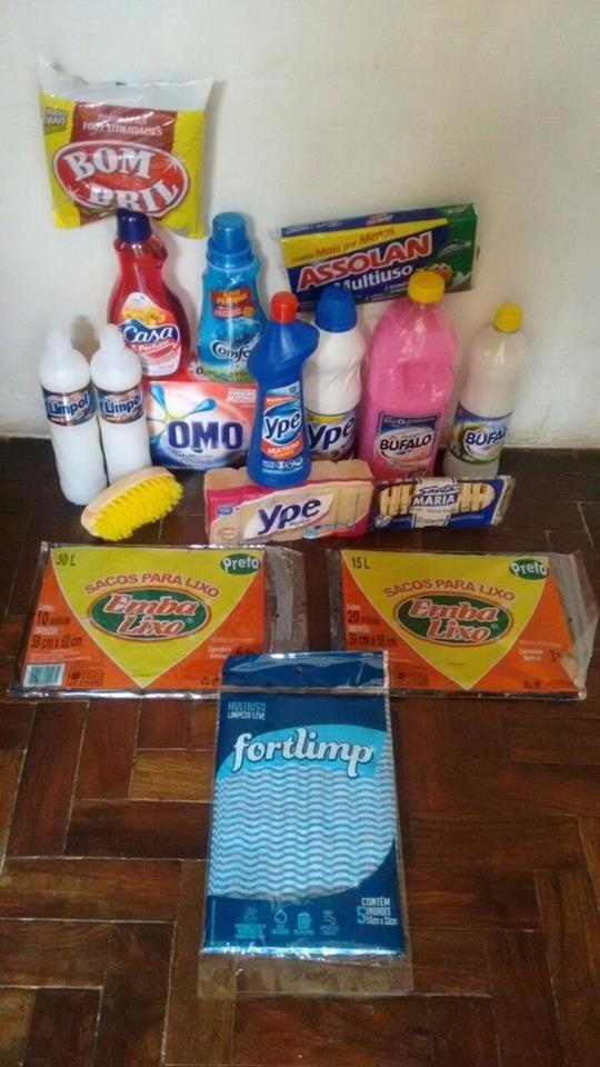 0b1d9f051 Kit Produtos De Limpeza 16 Unidades -super Oferta!!atacado - R$ 199 ...