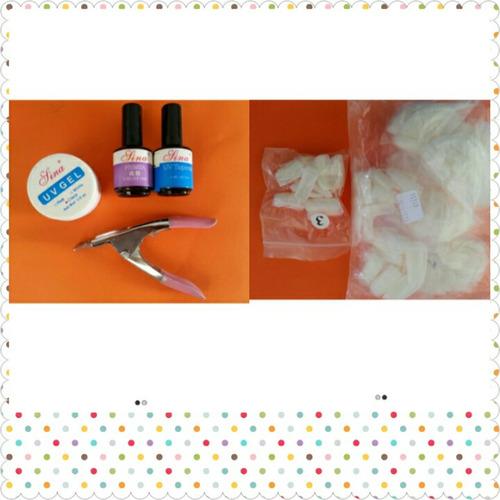 kit produtos para unha gel
