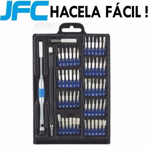 kit profesional 54 destornilladores herramientas pentalobe