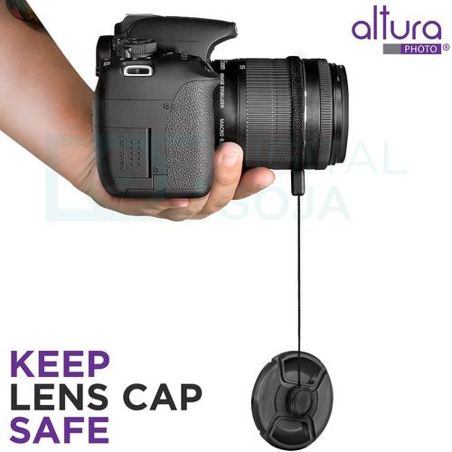 kit profesional de filtros de lente vivitar uv cpl fld de 52