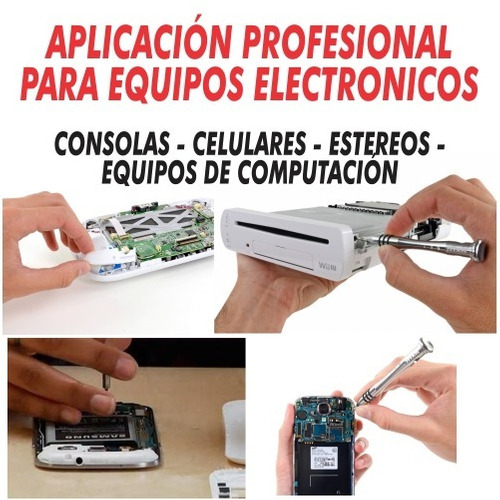 kit profesional desarmadores precisión reparacion celulares