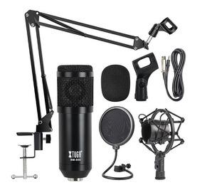 Kit De Microfono Profesional De Condensador De Audio Studio Set De Grabacion 3.5