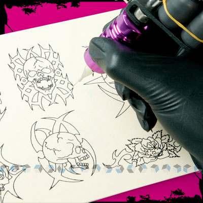 Kit profesional para tatuar con 4 maquinas tattoo for Eyepower tattoo kit