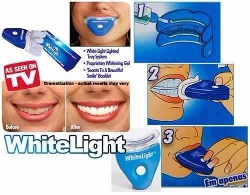 kit professional whitelight blanqueador 10min original