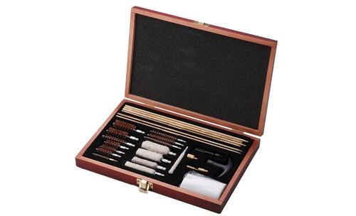 kit profissional de limpeza spa para armas vários calibres