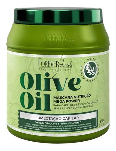 kit profissional forever liss mascara de bamboo e olive oil