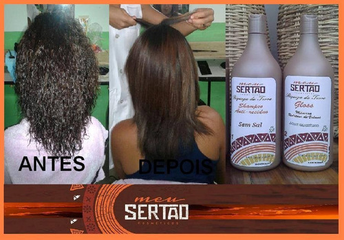 kit progressiva 1 shampoo e 1 redutor de volume só 250,00
