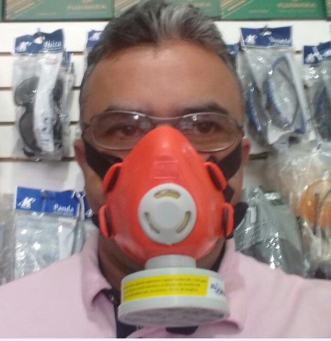 Kit Proteção Pintura Macacão Segurança, Óculos E Mascara - R  50,00 ... ec100ee2f7