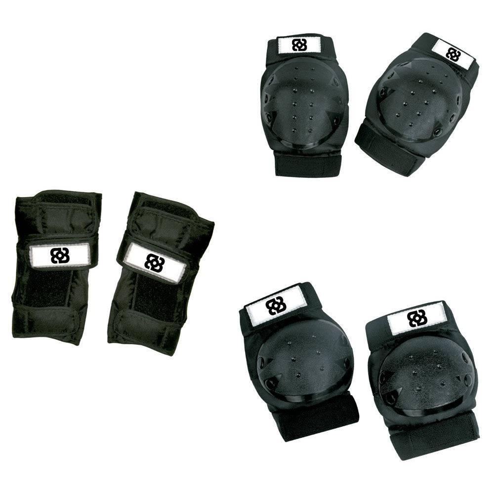 823b7793d Kit Proteção Skate Patins Burnquist Atrio Multilaser - Es002 - R  75 ...