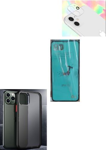 kit protector case mate iphone 11 / xr + irrompible + camara