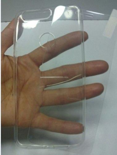 kit protector huawei honor 8 templado + silicona