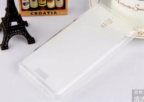 kit protector lenovo s660 silicona + vidrio templado