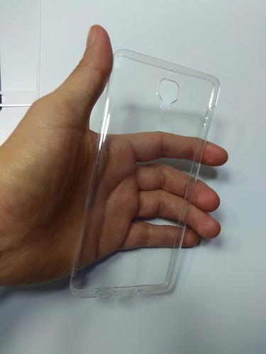 kit protector one plus 3t silicona + vidrio templado curvo