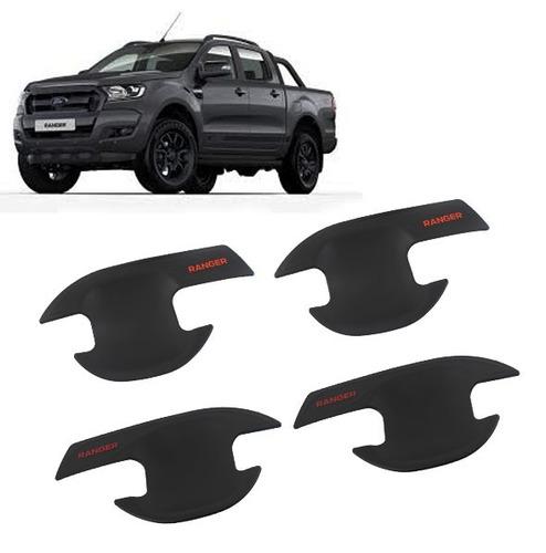 kit protectores manijas exterior 4 puertas ford ranger 15-17